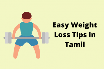 Weight loss tips in tamil