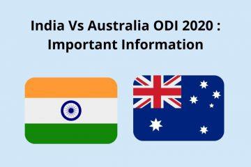 ODI India vs Australia